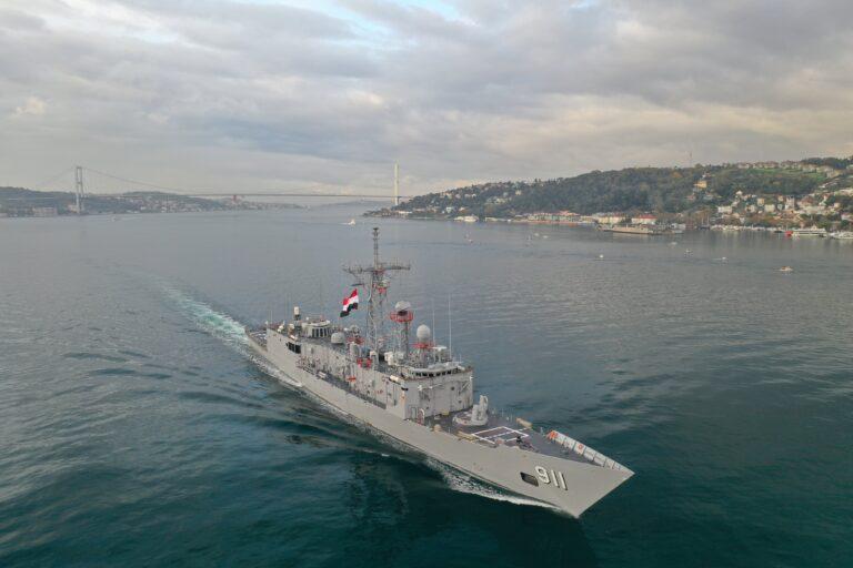 Egyptian naval group arrives in Novorossiysk for Friendship Bridge-2020