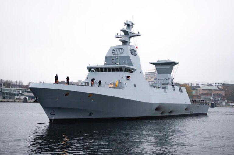 Thyssenkrupp delivers first Saar 6 class corvette to Israeli Navy