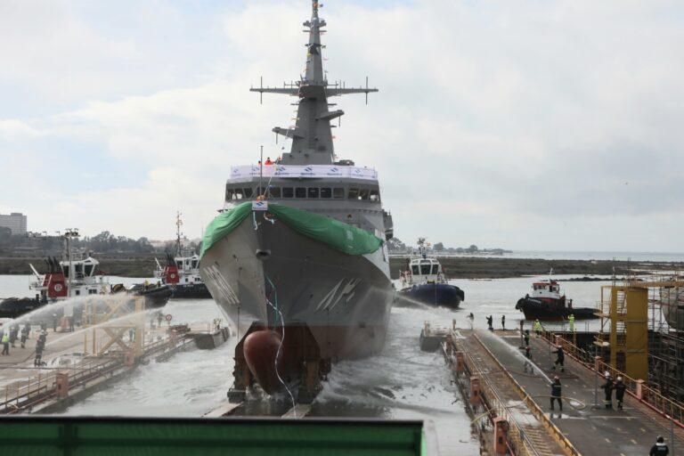 Navantia launches 2nd Avante-2200 class corvette for the Royal Saudi Navy