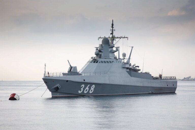 Russia commissions 3rd Project 22160 large patrol vessel Pavel Derzhavin