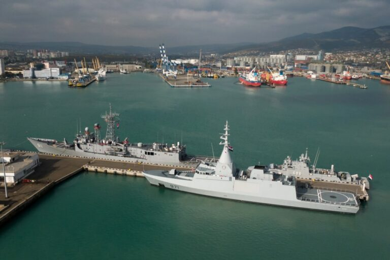 Egyptian warships leave Novorossiysk after Friendship Bridge-2020