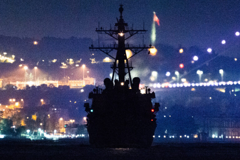 USS Donald Cook enters the Black Sea