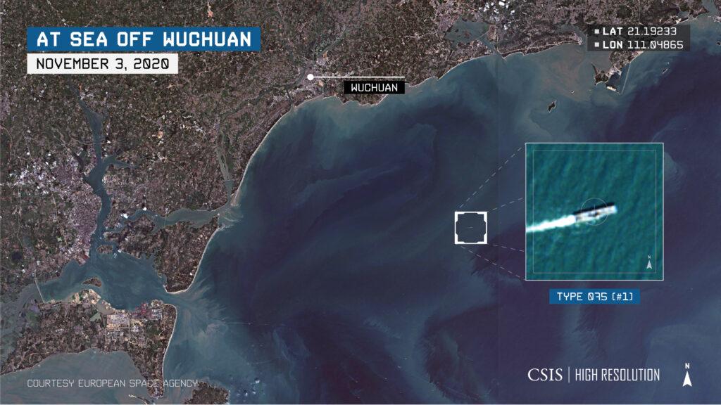 highresspotlight type095 sea off wuchuan - naval post- naval news and information