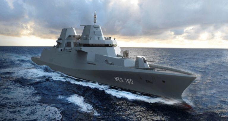 Damen selects Thales solutions for MKS-180 programme of the German Navy