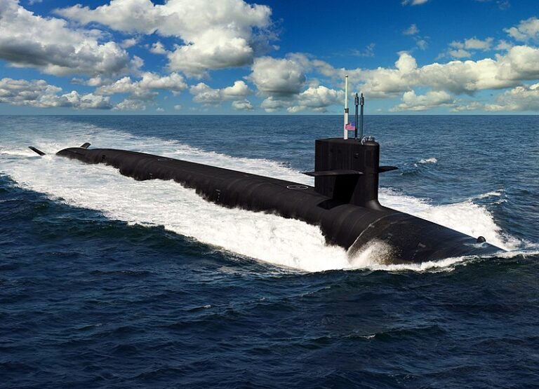HII awarded contract for construction of first two Columbia-class Submarine modules