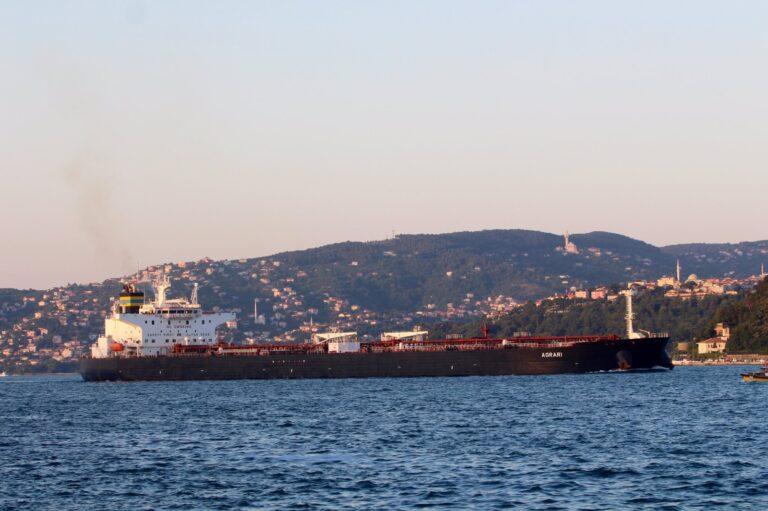 Greek-operated tanker damaged by mine at Saudi terminal