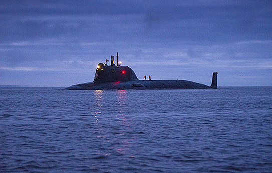 Russian Kazan submarine test-fires Oniks cruise missile from the White Sea