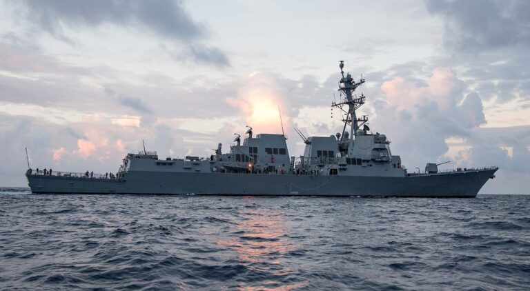 USS Ralph Johnson Conducts Maritime Interdiction in North Arabian Sea