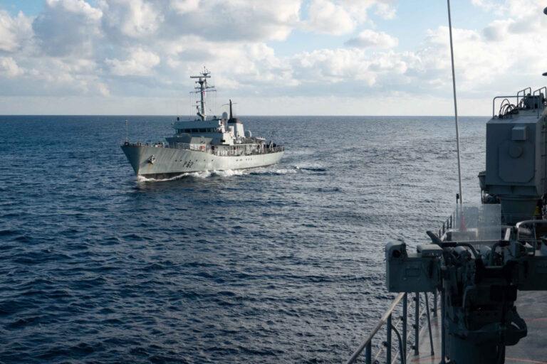 NATO Standing Mine Countermeasures Group of Mediterranean assets visit Malta