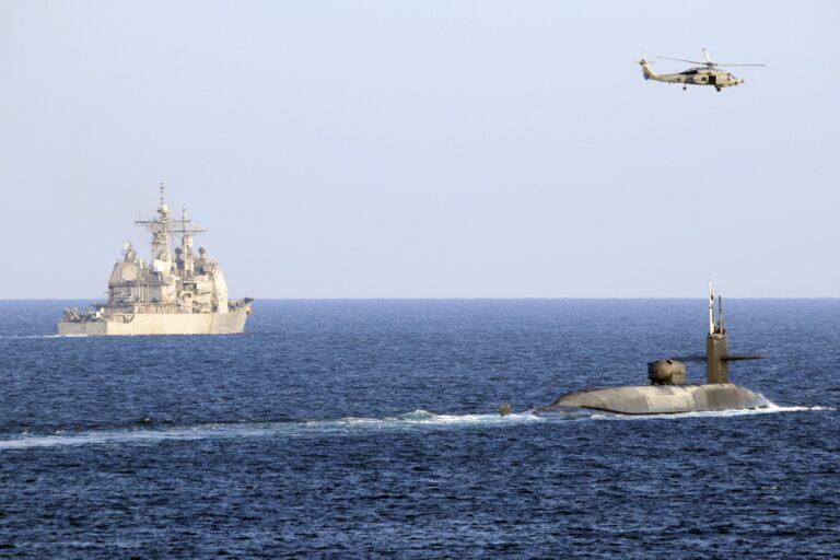 U.S. Navy sends nuc-submarine and cruisers to Strait of Hormuz