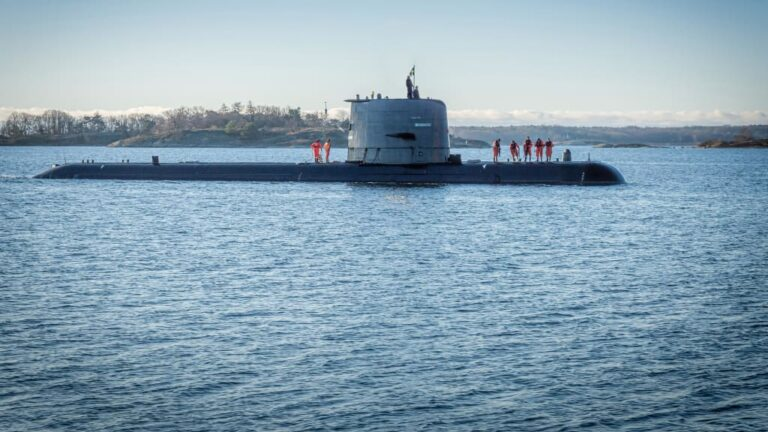 Saab delivers 2nd upgraded Gotland-class sub to the Swedish Navy