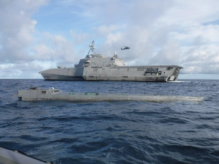 USS Gabrielle Giffords Interdicts Over $100 Million in Drugs