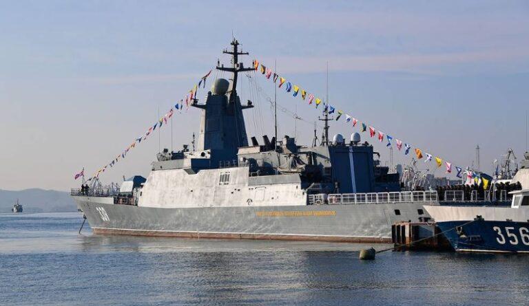 Russian Navy commissions new project 20380 class corvette Aldar Tsydenzhapov