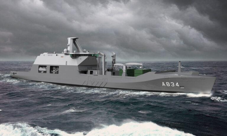 DAMEN begins construction of the Dutch Navy's Combat Support Ship