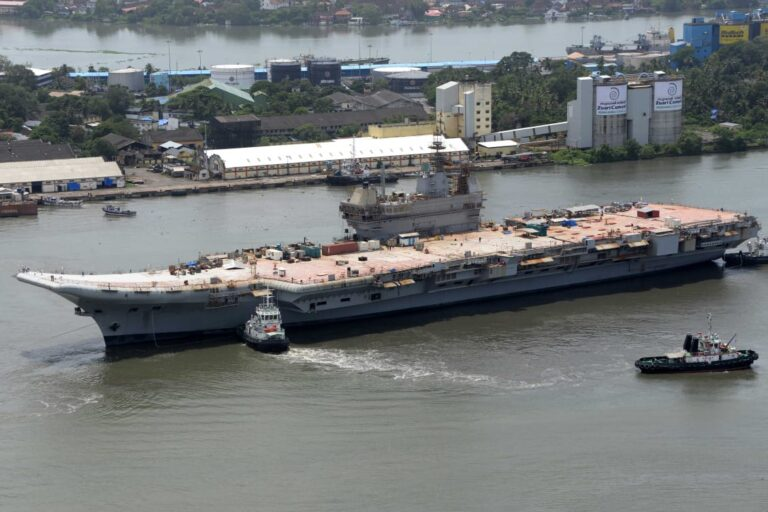 India's first indigenous Aircraft Carrier INS Vikrant completes basin trials