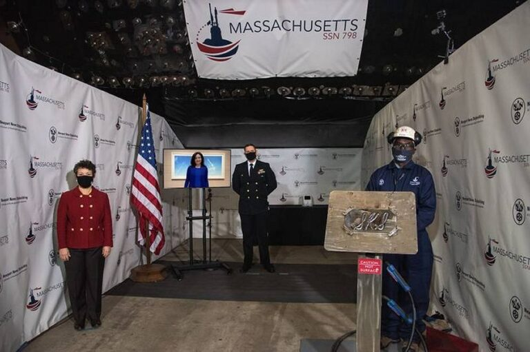 Huntington Ingalls begins the construction of the newest Virginia-class attack submarine
