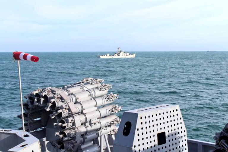 Indian Navy conducts passing exercise with the Vietnamese Navy