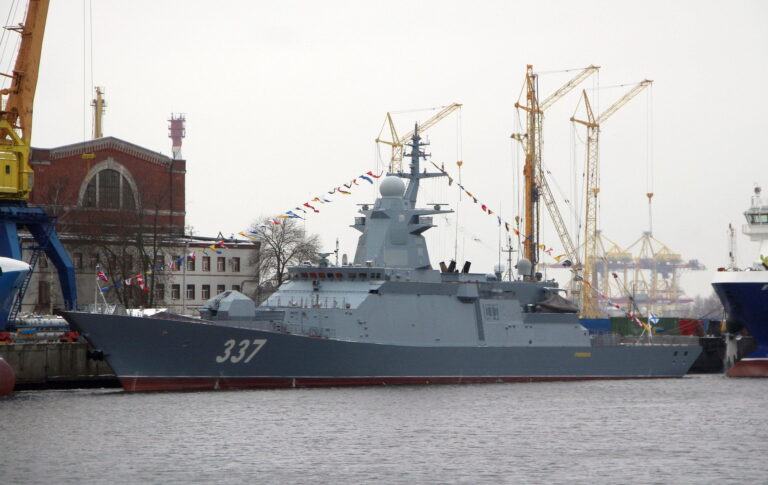Severnaya Shipyard delivers the lead corvette of Project 20385 to the Russian Navy