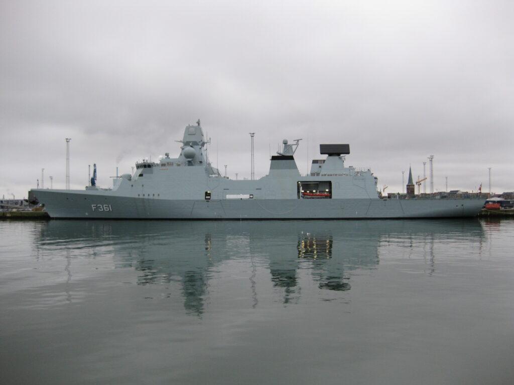 f361 iver huitfeldt - naval post- naval news and information