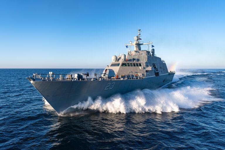U.S. Navy's Littoral Combat Ship 23 (Cooperstown) Completes Acceptance Trials
