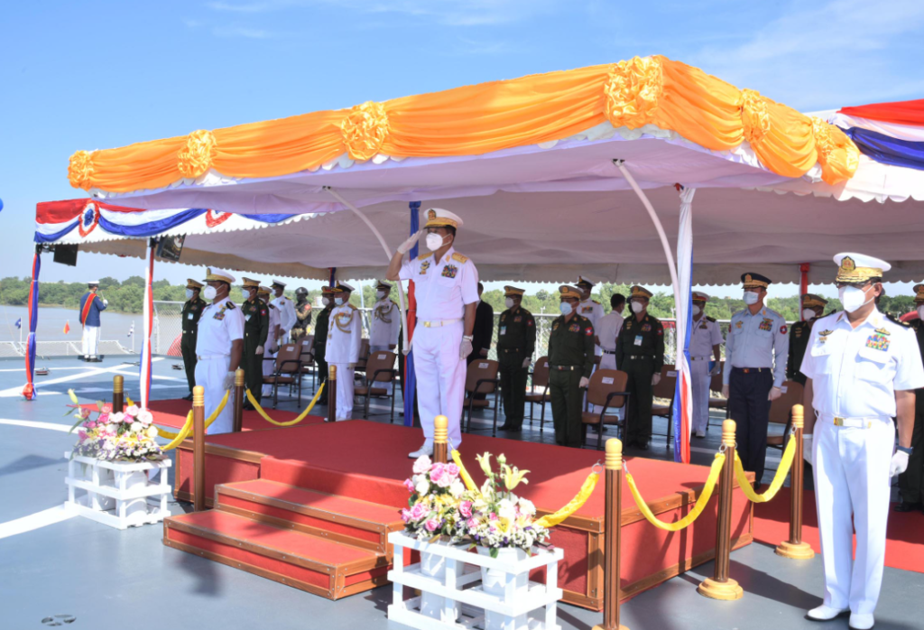 myanmar navy ceremony cns - naval post- naval news and information