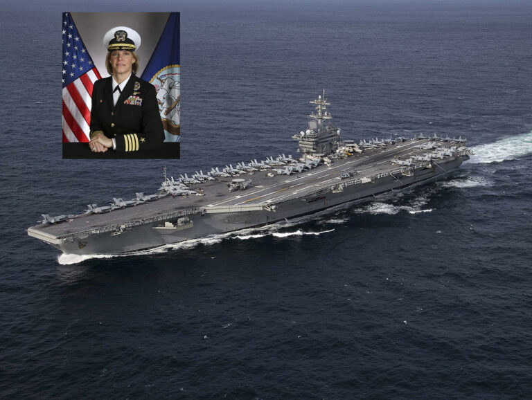 Female CO Will Command Aircraft Carrier for First Time