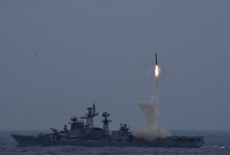 Indian Navy successfully test-fires BrahMos cruise missile
