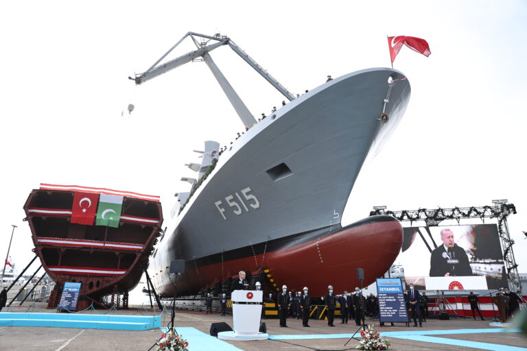 Turkey launches first indigenous frigate