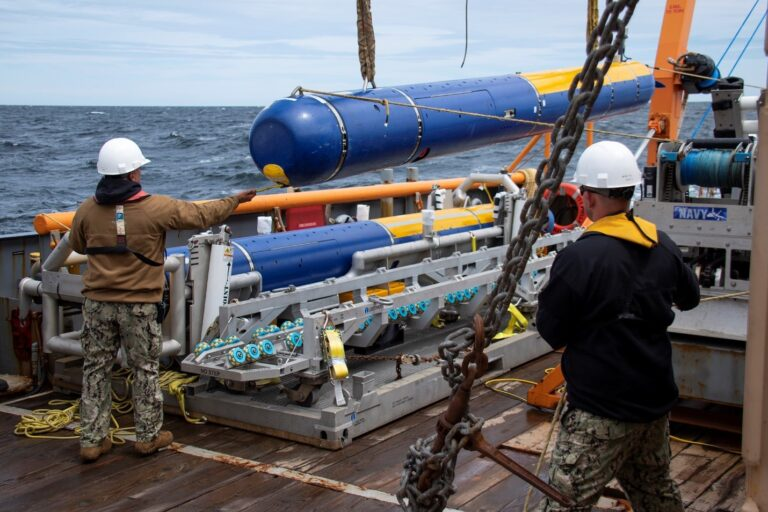 The Knifefish UUV is expected to enter service of the U.S. Navy in 2021