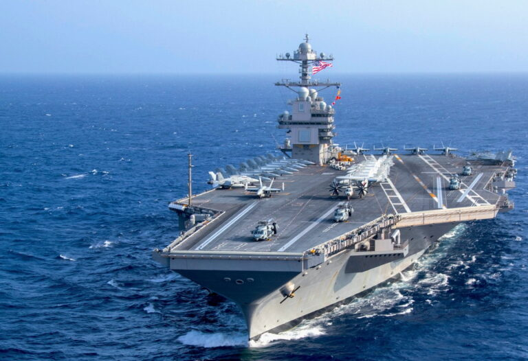 U.S. Navy's priciest carrier has problems with aircraft takeoff & landing systems