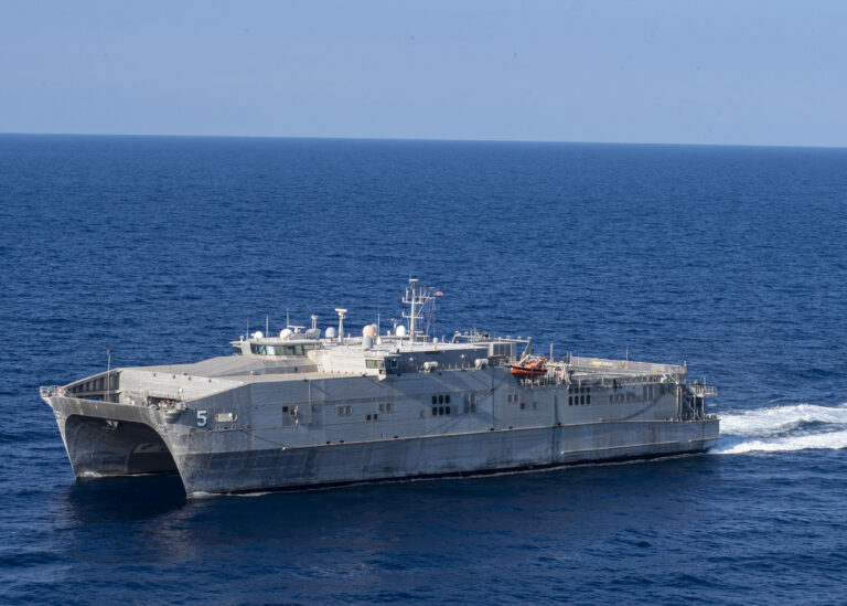 USNS Trenton conducts maritime security exercise with Tunisian Navy