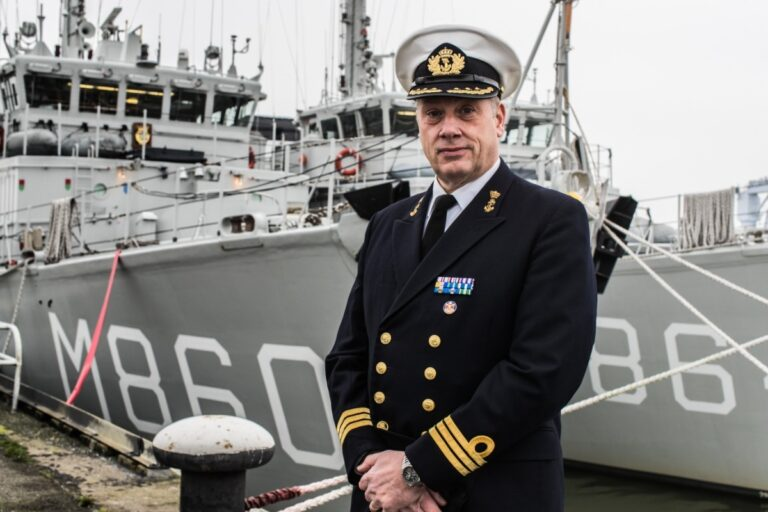 Netherlands assumes the command of NATO Mine Countermeasures Group