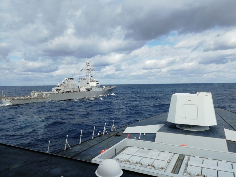 USS Donald Cook holds exercises with Italian assets to bolster interoperability