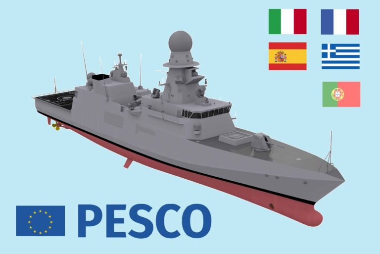 European Defence Agency to support PESCO Corvette Project