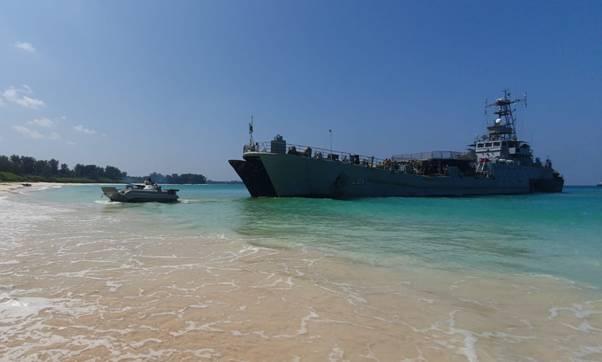 India kicks off major exercise in the Andaman Sea