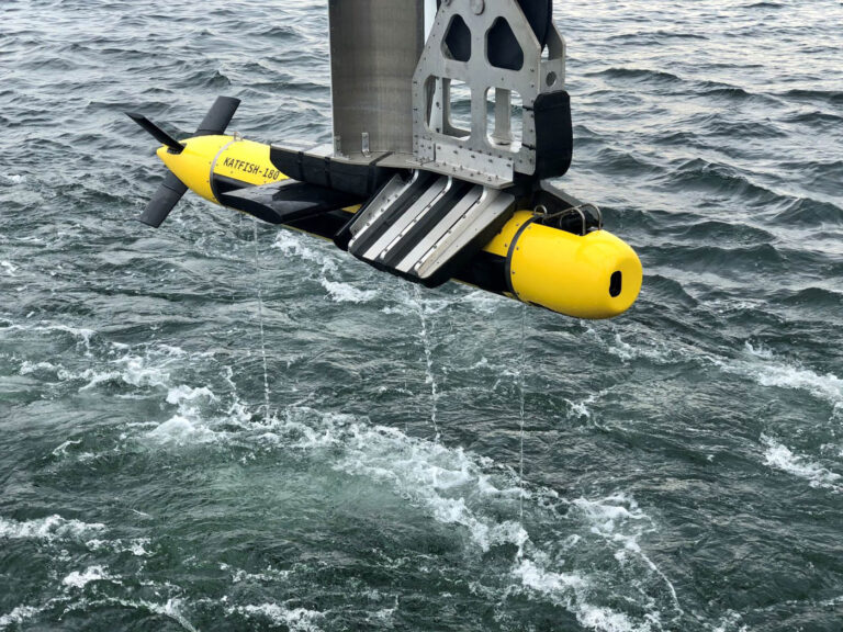 Ultra supports Kraken Robotic for the Delivery of KATFISH SAS to the Royal Danish Navy