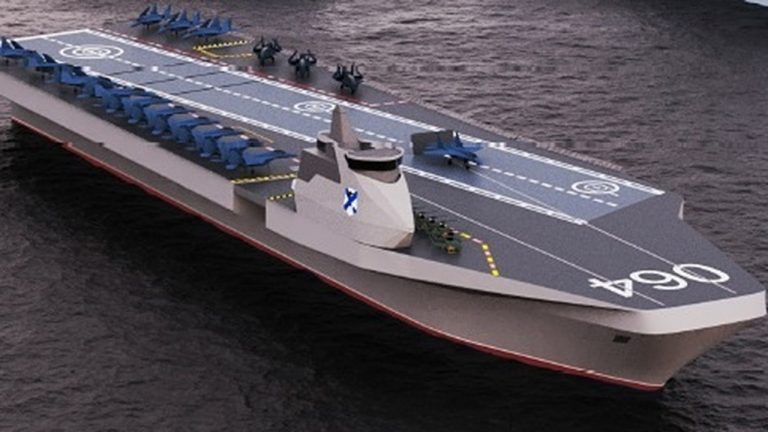 Russia unveils new aircraft carrier design