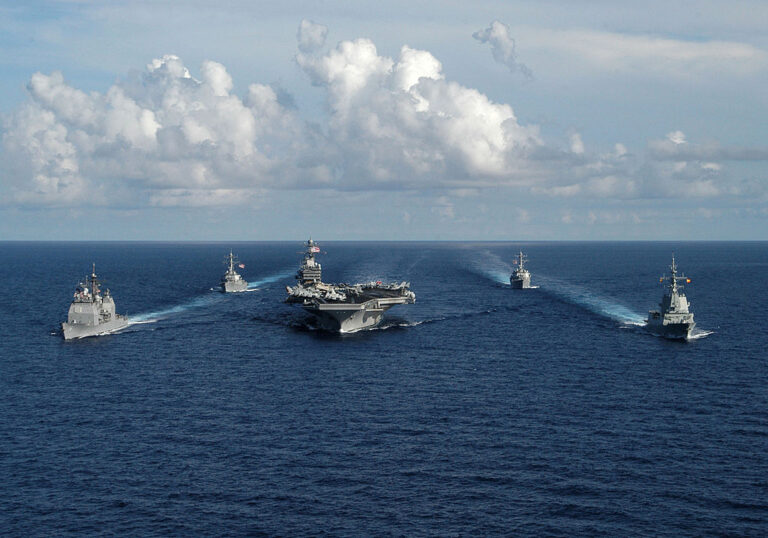 Theodore Roosevelt Carrier Strike Group enters the South China Sea