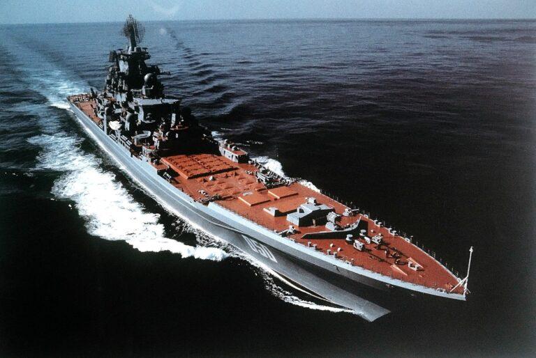 Russia to scrap nuclear battlecruiser Admiral Lazarev