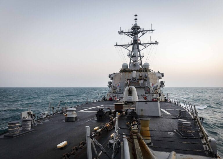 US Navy conducts FONOP in the South China Sea