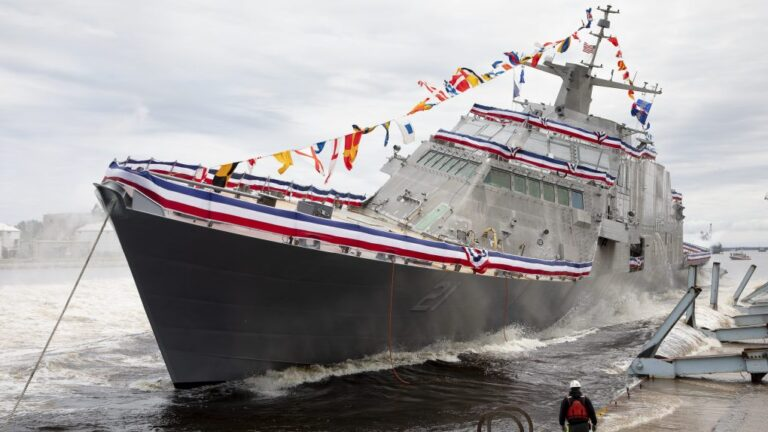 U.S. Navy postpones the commissioning of the LCS-21