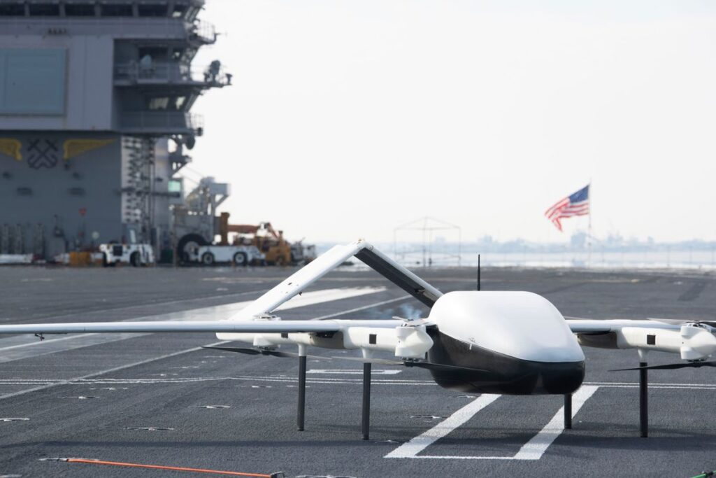 blue water cargo uas 2 - naval post- naval news and information
