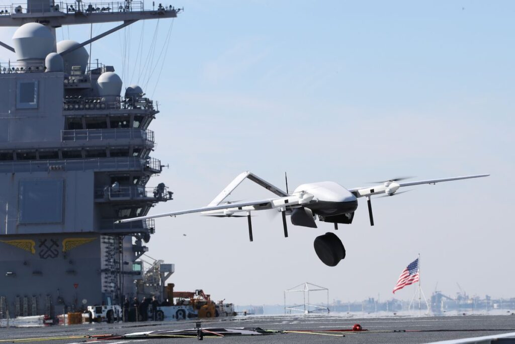 blue water cargo uas 3 - naval post- naval news and information