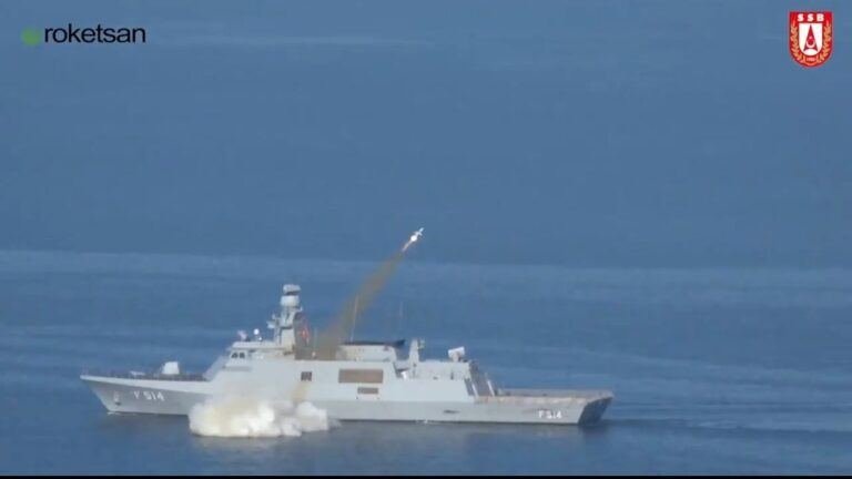 Turkey conducts final test-fires of indigenous missile Atmaca successfully
