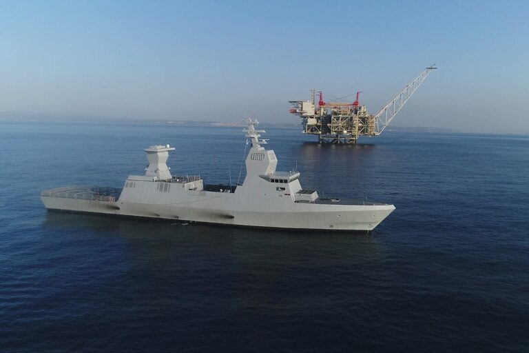 The new task for the Israeli Navy: Protecting offshore energy resources
