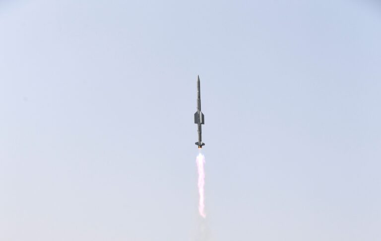 India Successfully Launches VL-SRSAM Missile