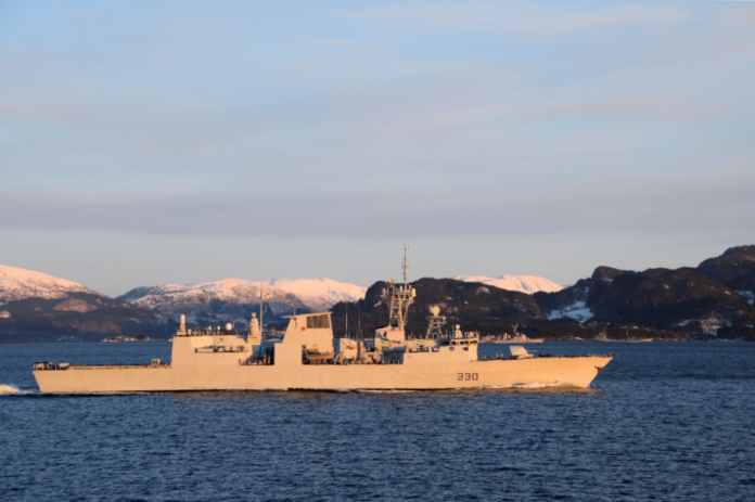 NATO assets participate Norwegian-led TG 21-1 exercise