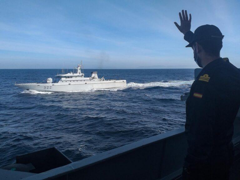Operation Sea Guardian flagship visits Morocco