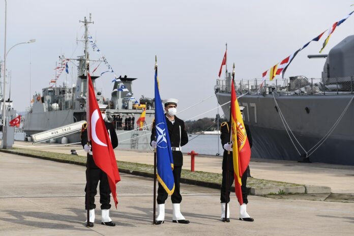 Turkey has taken command of our Standing NATO Mine Countermeasures Group
