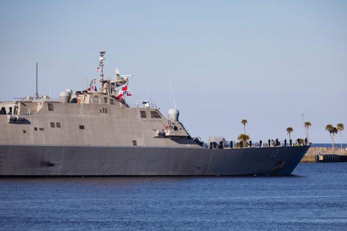 The Freedom-class littoral combat ships USS Wichita (LCS 13)